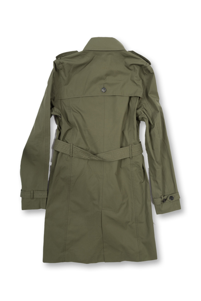 w'lfg'ng EtaProof Trench Coat back