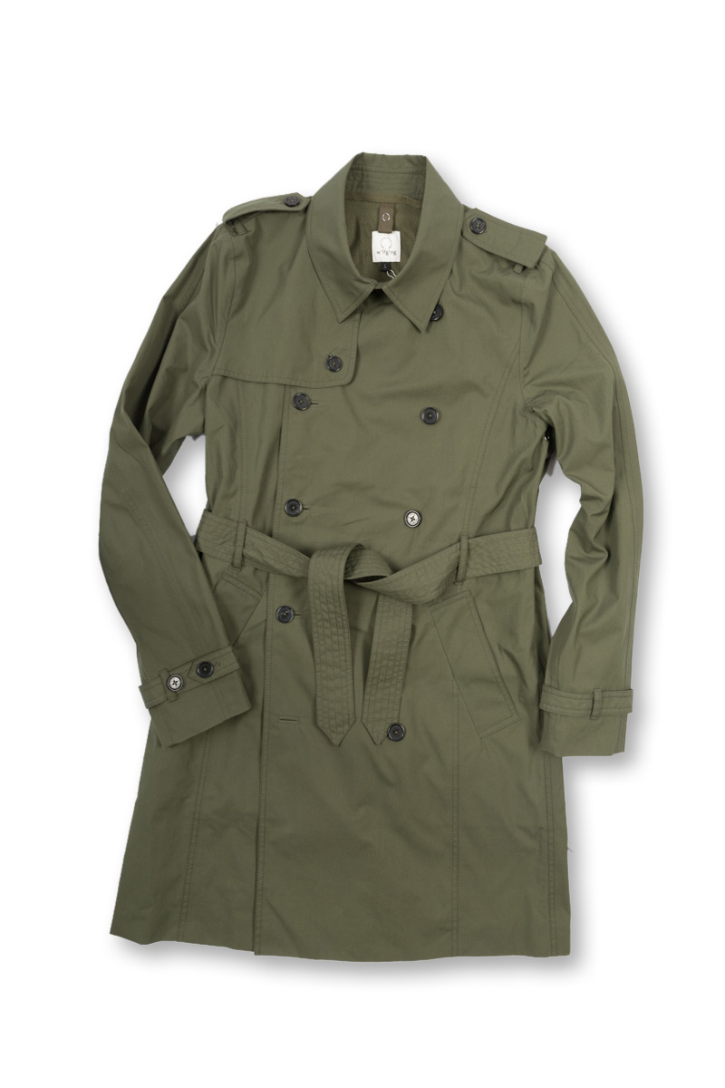 w'lfg'ng EtaProof Trench Coat front