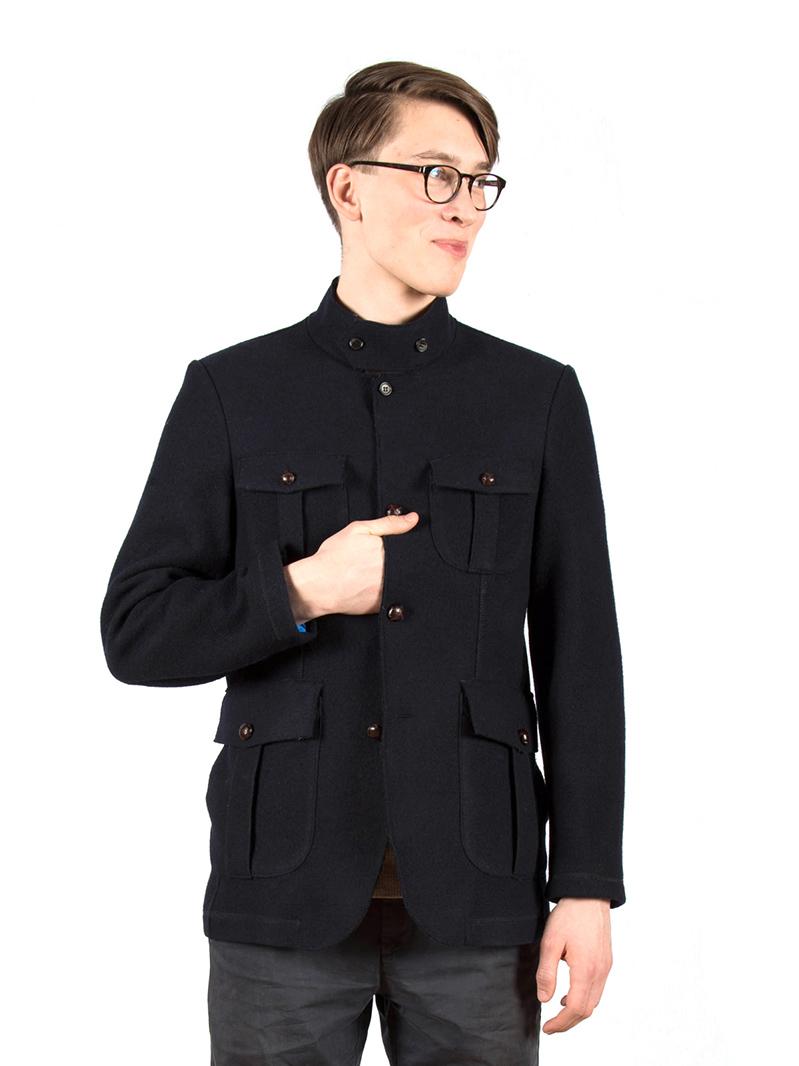 w'lfg'ng loden steiner wool jacket